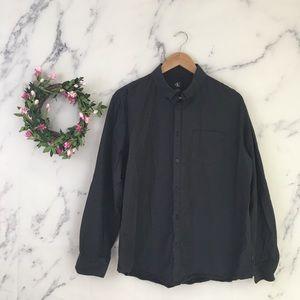 Calvin Klein Mens Striped Dress Shirt  Button Down